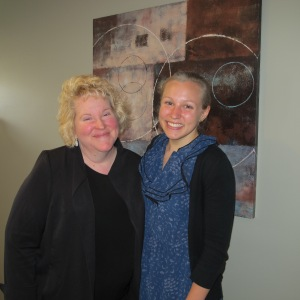 Dr. Cathy Rupp and Anneliese Rupp